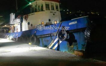Έφοδος Λιμενικών σε πλοίο στην Ιεράπετρα