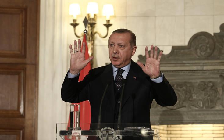 Ερντογάν για Κυπριακό: Το όνειρο των Ελληνοκυπρίων δεν θα πραγματοποιηθεί ποτέ