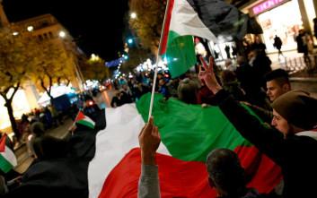 Πορεία στη Θεσσαλονίκη για το ζήτημα της Ιερουσαλήμ