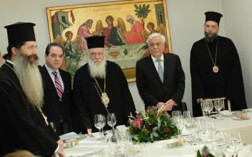 Παυλόπουλος: Ήρθα στο «Καρέλλειο» για να εξάρω το ρόλο της Εκκλησίας