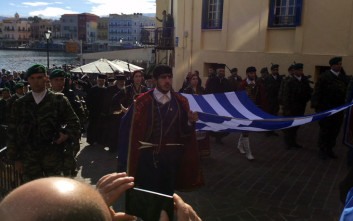 Η Κρήτη γιορτάζει τα 104 χρόνια από την ένωση με την Ελλάδα