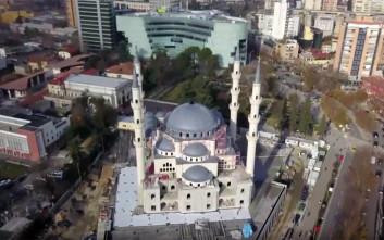 Η Τουρκία φτιάχνει ένα από τα μεγαλύτερα τζαμιά των Βαλκανίων στα Τίρανα