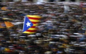 Στους δρόμους της Βαρκελώνης κατά της ανεξαρτησίας της Καταλονίας