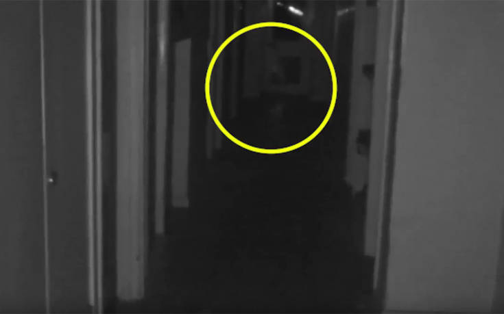 «Παιδικό φάντασμα» εμφανίζεται ξαφνικά σε διάδρομο εγκαταλειμμένου κτιρίου