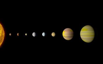 Ανακαλύφθηκε νέο ηλιακό σύστημα παρόμοιο με το δικό μας