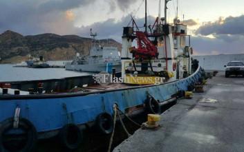 Ναρκωτικά στο πλοίο στο οποίο έκαναν ρεσάλτο οι κομάντος του Λιμενικού