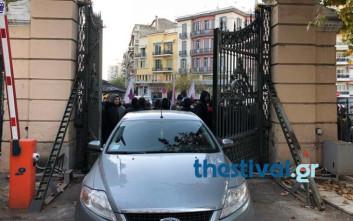 Τέλος στην κατάληψη του υπουργείου Μακεδονίας - Θράκης από το ΠΑΜΕ