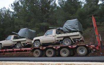 Συνεχίζεται η εισβολή του τουρκικού στρατού στη Συρία