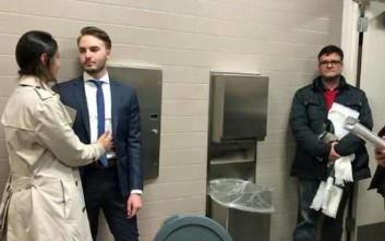 Παντρεύτηκαν στην τουαλέτα των δικαστηρίων