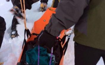 Σε καλή κατάσταση η υγεία του Γάλλου ορειβάτη