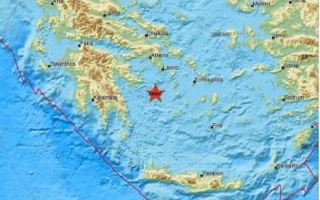 Σεισμός νοτιοανατολικά της Ύδρας