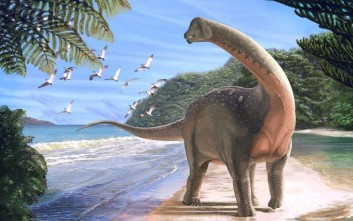 Ανακαλύφθηκε ο Μανσουρόσαυρος που είχε το μήκος ενός λεωφορείου