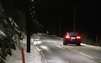 «Πράσινος» δρόμος φωτίζεται μόνο όταν περνά πεζός ή αυτοκίνητο