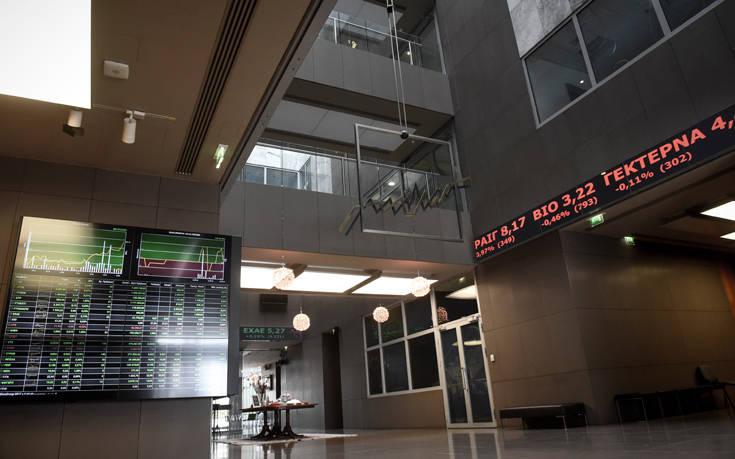 Εικόνα σταθεροποίησης στο χρηματιστήριο