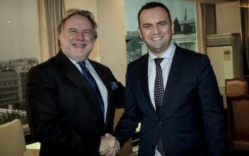 Προωθείται η οικονομική συνεργασία Ελλάδας-ΠΓΔΜ