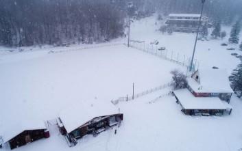 Νεκρός 20χρονος αθλητής που έκανε σκι στο χιονοδρομικό στη Νάουσα