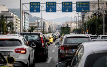 Αυξημένη κίνηση στους δρόμους λόγω των κινητοποιήσεων των ΜΜΜ