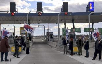 Το ΠΑΜΕ άνοιξε τα διόδια στον νέο αυτοκινητόδρομο Ε-65