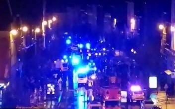 Κατέρρευσε πολυκατοικία στην Αμβέρσα μετά από έκρηξη