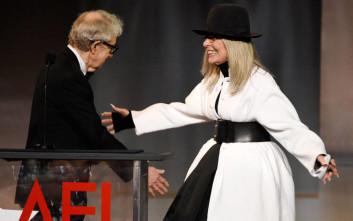 Η Νταϊάν Κίτον στηρίζει Γούντι Άλεν: Είναι φίλος μου και εξακολουθώ να τον πιστεύω