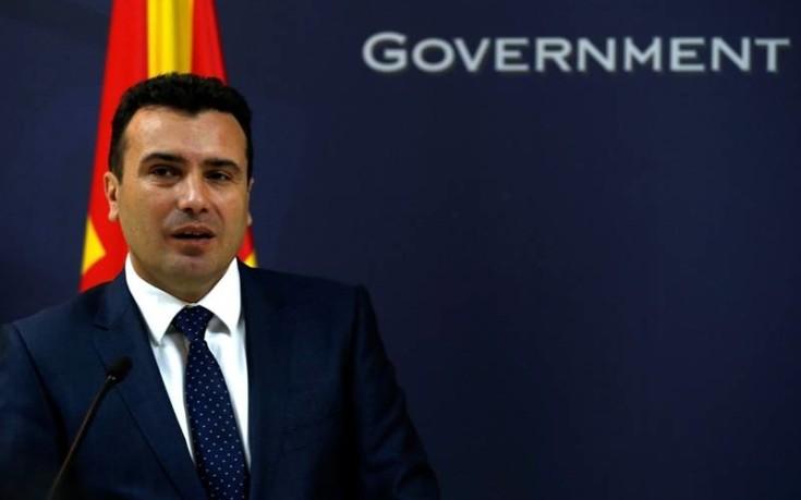 Ζάεφ: Θα κάνουμε ό,τι μας αναλογεί για να πετύχουμε την ένταξη στο ΝΑΤΟ και την ΕΕ