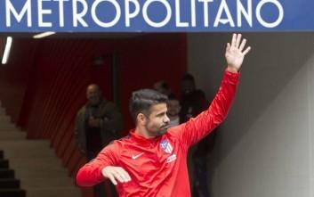 Ντιέγκο Κόστα: Τέσσερα γκολ και... αποβολή σε φιλικό με τη Ρεάλ