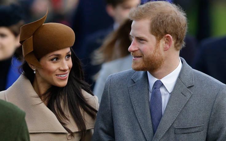 Στην τηλεόραση η ιστορία αγάπης του πρίγκιπα Χάρι με την Μέγκαν Μαρκλ