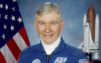 Απεβίωσε ο αστροναύτης που έβαλε σε τροχιά ένα… σάντουιτς