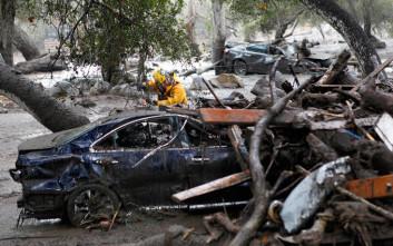 Λιγοστεύουν οι ελπίδες για τον εντοπισμό επιζώντων στην Καλιφόρνια