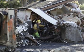 Στους 19 οι νεκροί από τις κατολισθήσεις στην Καλιφόρνια