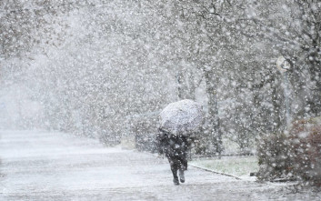 Γερμανία Χιόνια Φρειδερίκη