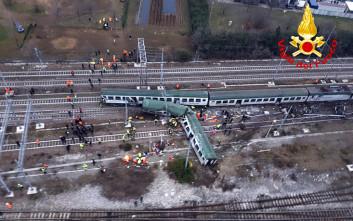 Πρόβλημα στις ράγες η αιτία της τραγωδίας έξω από το Μιλάνο
