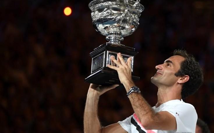 O Φέντερερ είναι ο βασιλιάς του τένις