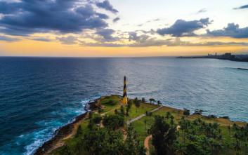 Ο Άγιος Δομίνικος όπως δε φαίνεται από την κάμερα του Survivor