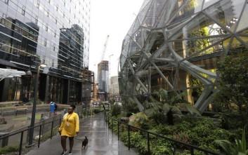 Τα νέα γραφεία της Amazon θυμίζουν… τροπικό δάσος