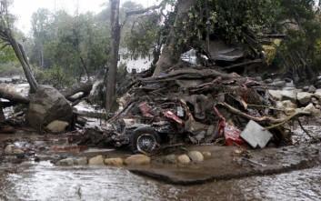 Εικόνες τεράστιας καταστροφής στην Καλιφόρνια