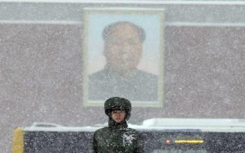 Τουλάχιστον δέκα νεκροί από την κακοκαιρία στην Κίνα