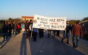 Ματαιώθηκε η εκδήλωση της Χρυσής Αυγής στη Χίο