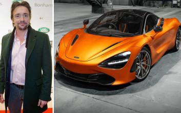 Έτσι απλά κατέστρεψε ο Ρίτσαρντ Χάμοντ μια McLaren 230.000 ευρώ!