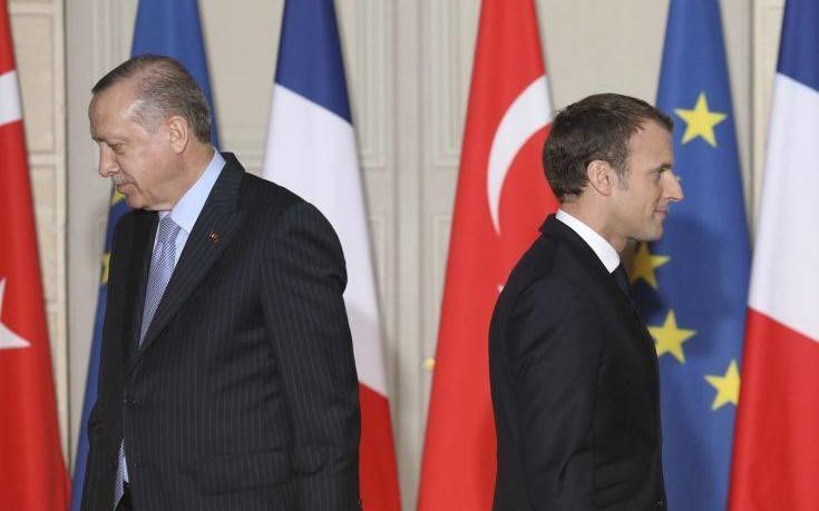 Διαξιφισμοί Μακρόν-Ερντογάν για την ένταξη της Τουρκίας στην Ε.Ε.