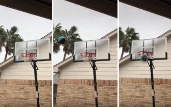 Κάπως έτσι καταλήγει το μπάσκετ σε πολικές θερμοκρασίες