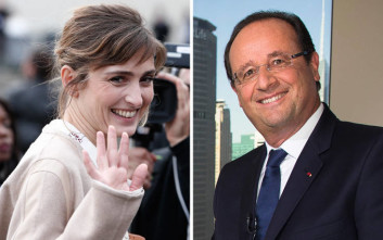 Η Ζιλί Γκαγιέ και ο Φρανσουά Ολάντ δεν κρύβονται πια