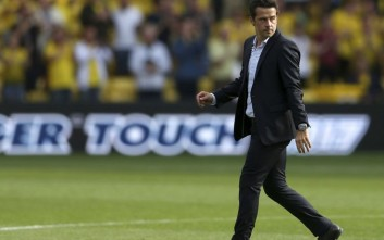 Watford manager Marco Silva during the Premier League match at Vicarage Road, Watford. Saturday Aug. 26, 2017. (Scott Heavey/PA via AP)