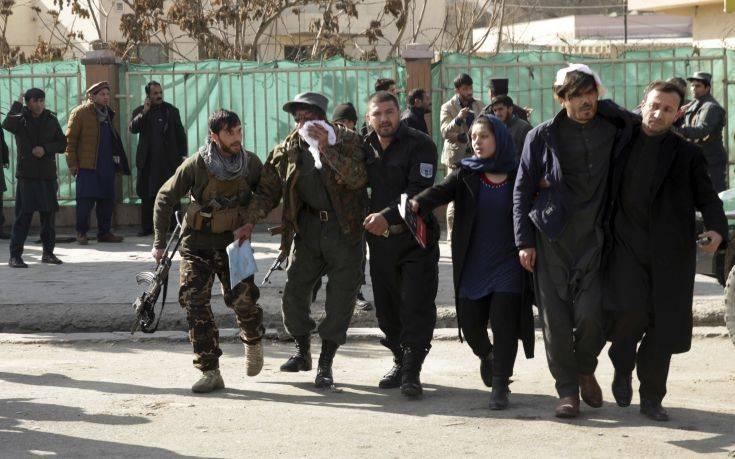 Επίθεση αυτοκτονίας κοντά σε υπουργείο στην Καμπούλ
