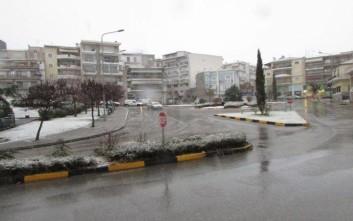 Ξύπνησε στα λευκά η Δυτική Μακεδονία