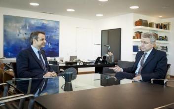 Με τον αμερικανό πρέσβη συναντήθηκε ο Μητσοτάκης