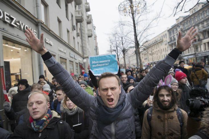 Νέα ποινή φυλάκισης για τον Αλεξέι Ναβάλνι
