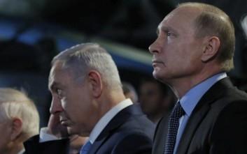 Πούτιν και Νετανιάχου συναντώνται την Πέμπτη στο Σότσι
