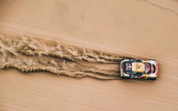 Η «αλεπού της ερήμου» προηγείται στην κατάταξη του Dakar 2018