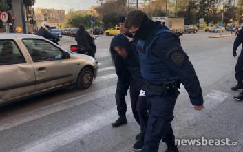 Φωτογραφίες των Γεωργιανών μετά τους πυροβολισμούς και την απόπειρα απόδρασης